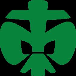 Grüne DPSG Lilie
